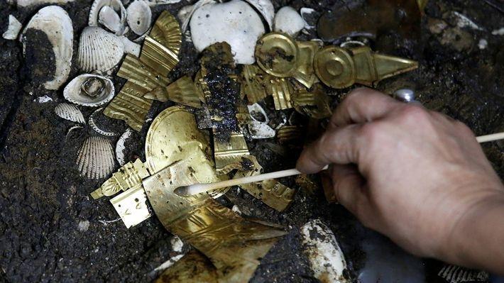 10 археологических артефактов, найденных в 2017 году вмемори.